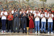 Spanish Royals Receive Spain Basketball National Selection