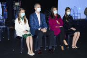 Princess Sofia and Crown Princess Leonor of Spain Photos Photo