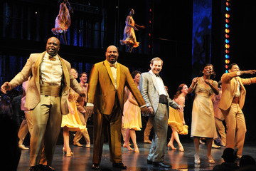 """Montego Glover Chad Kimball A Special Performance of """"Memphis"""" on Broadway for Inspire Change"""