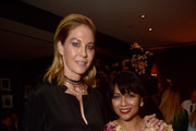 "Jenna Elfman and Karen David attend the after party for the season 10 Special Screening of AMC's ""The Walking Dead"" on September 23, 2019 in Hollywood, California."