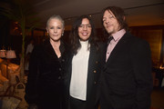 """Melissa McBride, Sarah Barnett and Norman Reedus attend the after party for the season 10 Special Screening of AMC's """"The Walking Dead"""" on September 23, 2019 in Hollywood, California."""