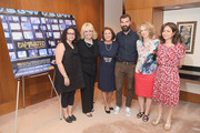 "(L-R) Radio personality Brooke Gladstone, Linda Kenney Baden, ESQ., Linda Wojas, filmmakers Jeremiah Zagar and Lori Cheatle, and SVP of HBO Documentary Films Lisa Heller attend a special screening of the HBO Documentary Film ""Captivated: The Trials Of Pamela Smart"" at the Paley Centeron August 13, 2014 in New York City."
