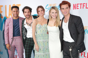 "Jacob Lattimore, Tyler Posey, Maia Mitchell, Halston Sage and KJ Apa attends the special screening of Netflix's ""The Last Summer"" at TCL Chinese Theatre on April 29, 2019 in Hollywood, California."