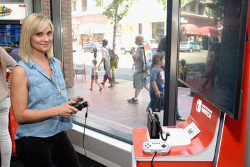 Spencer Grammer Nintendo At The TV Insider Lounge At Comic-Con International 2017