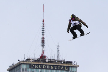 Spencer O'Brien Polartec Big Air at Fenway - Day 1