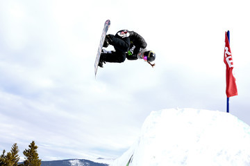 Spencer O'Brien Dew Tour Breckenridge 2017 - Day 1