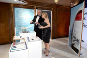 Waterkeeper Alliance President Bobby Kennedy and Cheryl Hines attend the 2018 ACE Awards, announcing the Waterkeeper Alliance Partnership sponsored by Sperry at Cipriani 42nd Street on June 11, 2018 in New York City.