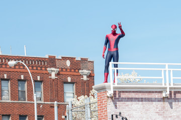 Spider-Man 'The Amazing Spider-Man 2' Volunteer Day