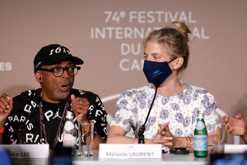Spike Lee Mélanie Laurent Jury Press Conference - The 74th Annual Cannes Film Festival