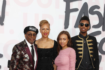 Spike Lee Satchel Lee Red Carpet Arrivals - Fashion For Relief Cannes 2018