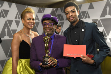 Spike Lee Tonya Lewis Lee 91st Annual Academy Awards - Governors Ball