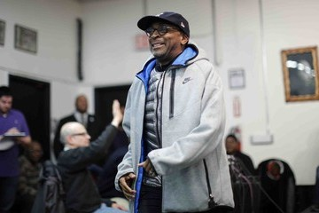 Spike Lee Sharpton And Eric Garner Family Members Discuss Plans For National March