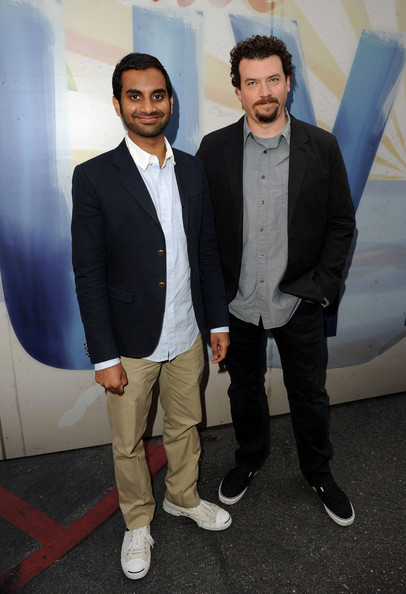 "Actors Aziz Ansari and Danny McBride arrive at Spike TV's 5th annual 2011 ""Guys Choice"" Awards at Sony Pictures Studios on June 4, 2011 in Culver City, California."