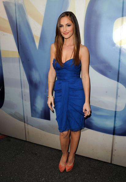 "Actress Minka Kelly arrives at Spike TV's 5th annual 2011 ""Guys Choice"" Awards at Sony Pictures Studios on June 4, 2011 in Culver City, California."