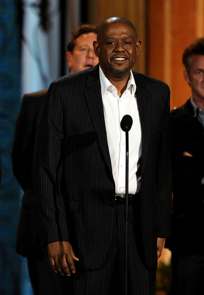 "Actor Forest Whitaker accepts the Guy Movie Hall of Fame award for ""Fast Times at Ridgemont High"" onstage during Spike TV's 5th annual 2011 ""Guys Choice"" Awards at Sony Pictures Studios on June 4, 2011 in Culver City, California."