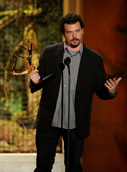 "Actor Danny McBride accepts the Comedy MVP award onstage during Spike TV's 5th annual 2011 ""Guys Choice"" Awards at Sony Pictures Studios on June 4, 2011 in Culver City, California."