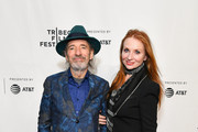 """Harry Shearer (L) and Judith Owen attend the """"This Is Spinal Tap"""" 35th Anniversary during the 2019 Tribeca Film Festival at the Beacon Theatre on April 27, 2019 in New York City."""