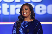 Laila Ali speaks onstage at Sports Illustrated 2018 Sportsperson of the Year Awards Show on Tuesday, December 11, 2018 at The Beverly Hilton in Los Angeles. Tune in to NBCSN on Thursday, December 13, 2018 at 9pmET to watch the one hour Sports Illustrated Sportsperson of the Year Awards special.