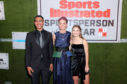 Award Recipients Bryce Young, Megan Rapinoe and Ally Sentnor attend the Sports Illustrated Sportsperson Of The Year 2019 at The Ziegfeld Ballroom on December 09, 2019 in New York City.