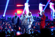 The Black Eyed Peas and J Balvin perform onstage during the 2020 Spotify Awards at the Auditorio Nacional on March 05, 2020 in Mexico City, Mexico.