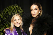 """(L-R) Chief Content Officer of Spotify, Dawn Ostroff and Kate Beckinsale attend Spotify Hosts """"Best New Artist"""" Party at The Lot Studios on January 23, 2020 in Los Angeles, California."""