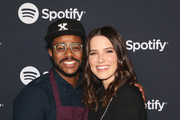 (L-R) Sophia Bush and Chef Kwame Onwuachi attend the Spotify Supper during CES 2020 at Hakkasan Las Vegas Restaurant and Nightclub at MGM Grand Hotel & Casino on January 07, 2020 in Las Vegas, Nevada.