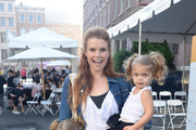 Emerson Swisher, JoAnna Garcia Swisher and Sailor Swisher attend St.Jude Walk/Run Hosted By Lucy Hale at Paramount Studios on September 22, 2018 in Hollywood, California.
