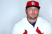 Matt Holliday #7 of the St. Louis Cardinals poses for a portrait during photo day at Roger Dean Stadium on March 2, 2015 in Jupiter, Florida.
