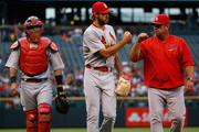 Yadier Molina Michael Wacha Photos Photo