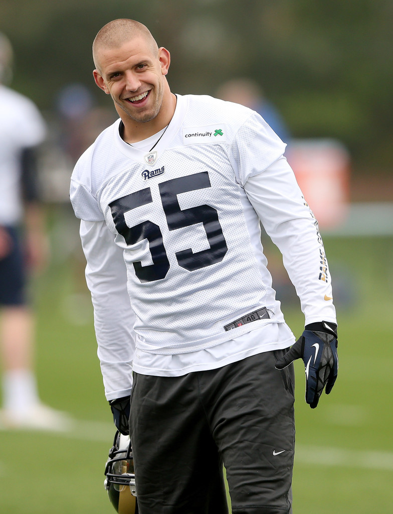 James Laurinaitis Pictures St Louis Rams Training