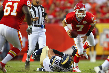 Ben Leber St Louis Rams v Kansas City Chiefs