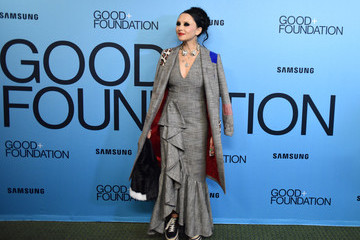 Stacey Bendet Eisner 2018 GOOD+ Foundation 'An Evening of Comedy + Music' Benefit Presented By Samsung Electronics America - Arrivals & Cocktail Reception