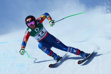 Stacey Cook FIS World Ski Championships - Men's and Women's Downhill Training
