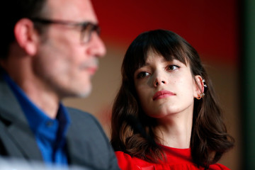 Stacy Martin 'Redoubtable (Le Redoutable)' Press Conference  - The 70th Annual Cannes Film Festival