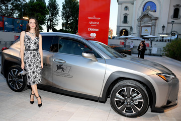 Stacy Martin Lexus at The 77th Venice Film Festival - Day 2