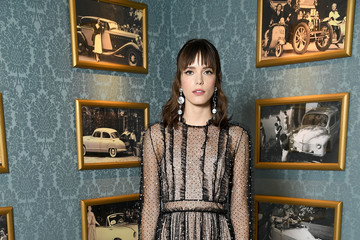 Stacy Martin Miu Miu Cruise Collection Show : Photocall - Paris Fashion Week