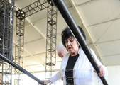 Musician Wanda Jackson performs onstage during 2011 Stagecoach: California's Country Music Festival at the Empire Polo Club on May 1, 2011 in Indio, California.