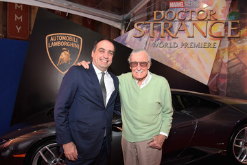 Stan Lee Lamborghini Stars at Marvel's 'Doctor Strange'