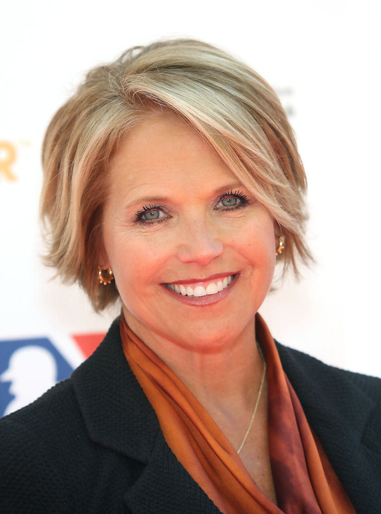 Katie Couric in Stand Up To Cancer - Arrivals - Zimbio