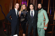 """Doug Jones, Rebecca Romijn, Ethan Peck and Shazad Latif attends the """"Star Trek: Discovery"""" Season 2 after party at the Conrad New York on January 17, 2019 in New York City."""