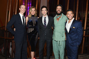 """Doug Jones, Rebecca Romijn, Ethan Peck, Shazad Latif and Wilson Cruz attend the """"Star Trek: Discovery"""" Season 2 after party at the Conrad New York on January 17, 2019 in New York City."""
