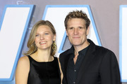 """James Cracknell (R) attends the """"Star Wars: The Rise of Skywalker"""" European Premiere at Cineworld Leicester Square on December 18, 2019 in London, England."""