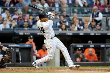 Starlin Castro League Championship Series - Houston Astros v New York Yankees - Game Five