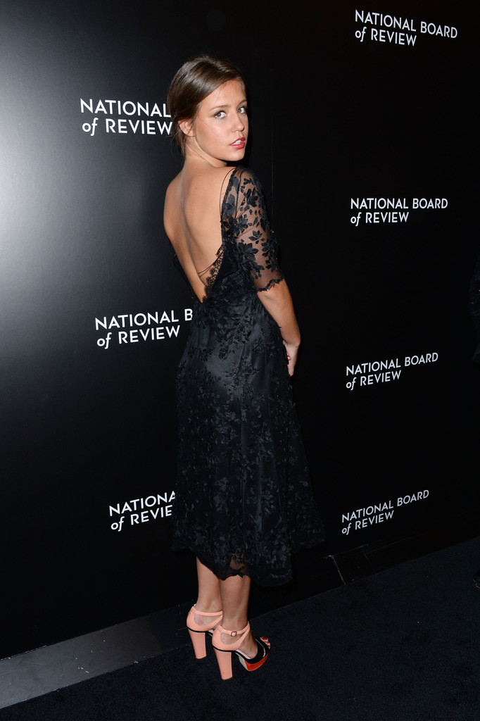 Actress Adele Exarchopoulos attends the 2014 National Board Of Review Awards Gala at Cipriani 42nd Street on January 7, 2014 in New York City.