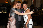 Dan Bucatinsky and Darby Stanchfield Photos Photo