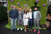 (L-R) Executive Producer/Writer Rodney Barnes, Ricky Whittle, Yetide Badaki, Omid Abtahi and Mousa Kraish attend Starz FYC 2019 — Where Creativity, Culture and Conversations Collide on June 02, 2019 at Westfield Century City in Century City, California.