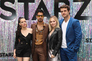 (L-R) Actors Roxane Mesquida, Avan Jogia, Kelli Berglund and Beau Mirchoff attend the Starz FYC Day at The Atrium at Westfield Century City on June 02, 2019 in Los Angeles, California.