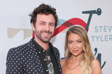 Stassi Schroeder Beau Clark Steven Tyler's Third Annual GRAMMY Awards Viewing Party To Benefit Janie's Fund Presented By Live Nation - Red Carpet