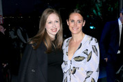 Chelsea Clinton and Alexi Ashe attend the Statue Of Liberty Museum Opening Celebration on May 15, 2019 at Ellis Island in New York City.