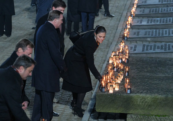 Auschwitz Memorial Commemorates 75th Anniversary Since Liberation [victoria,daniel,stefan l\u00e3,survivors,candle,swedish,fven,auschwitz memorial,poland,auschwitz memorial commemorates 75th anniversary since liberation,liberation of auschwitz concentration camp,international day of commemoration in memory of the victims of the holocaust,monowitz concentration camp,brzezinka,memorial,camilla duchess of cornwall,memorial to the murdered jews of europe,arbeit macht frei,holocaust survivors]